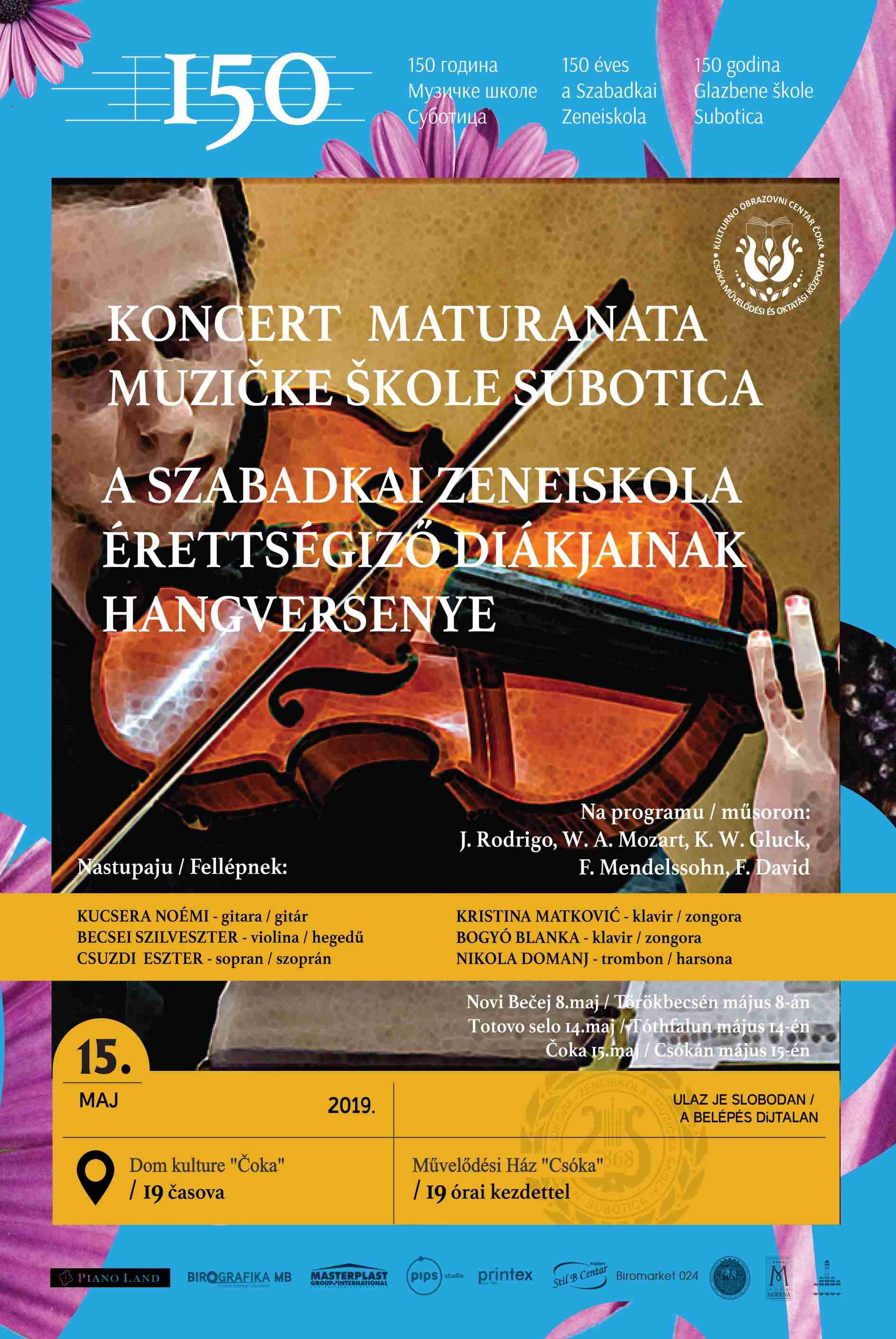 Maturski koncert 05 2019